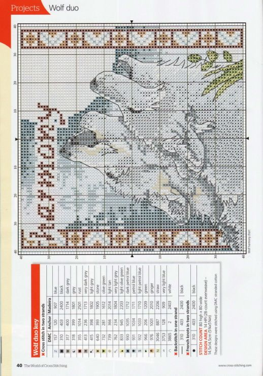 Gallery.ru / Photo # 22 - The world of cross stitching 153 + application 120 Charts - tymannost