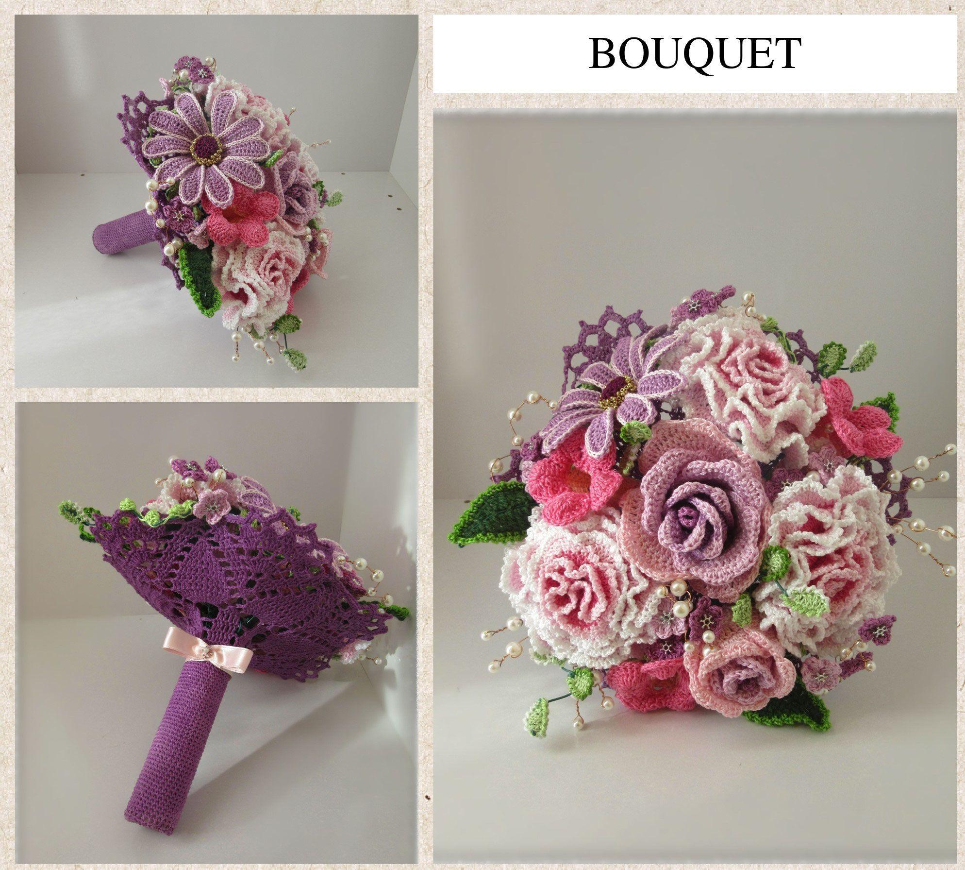 Catalogo Fiori.Catalogo Fiori All Uncinetto Crochet Flowers Con Immagini