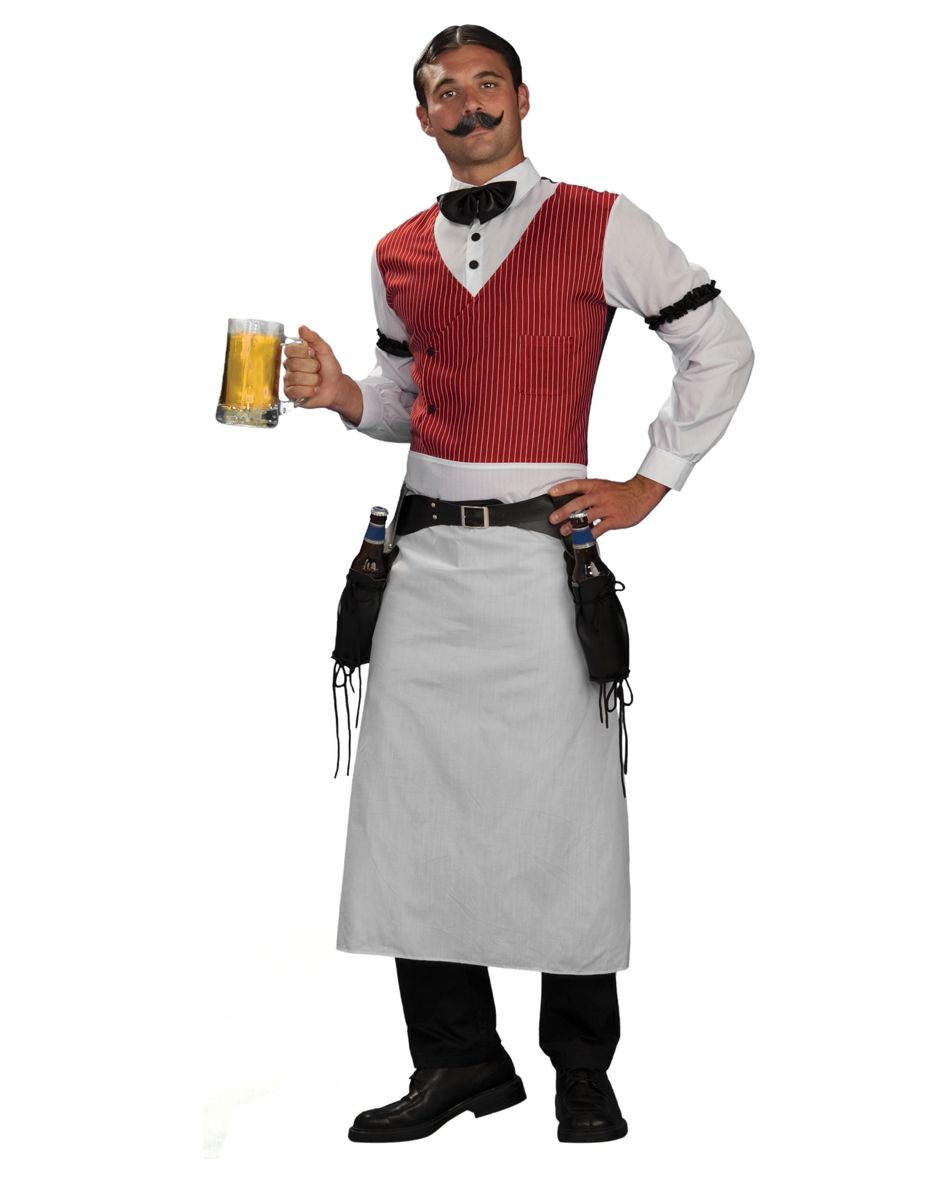 Saloon Bartender - Wild West Saloon Costume Idea. | Halloween ...