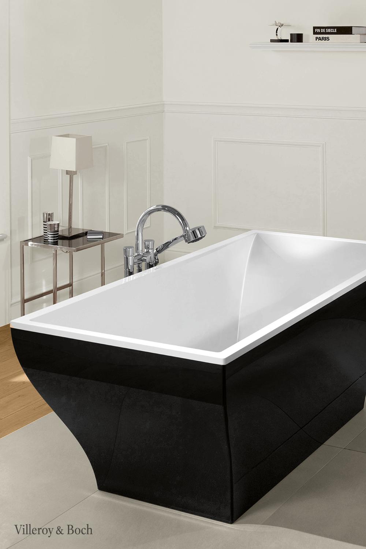 Black Freestanding Bathtub As A Colour Trend In 2020 Einrichtungsideen Badezimmer