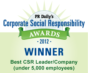 Best Csr Leader Company Pr Daily Corporate Social Responsibility Social Responsibility Employee Engagement