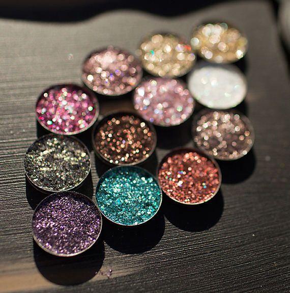 Colore Parete Glitter : Extra pressed glitter eyeshadow palette color
