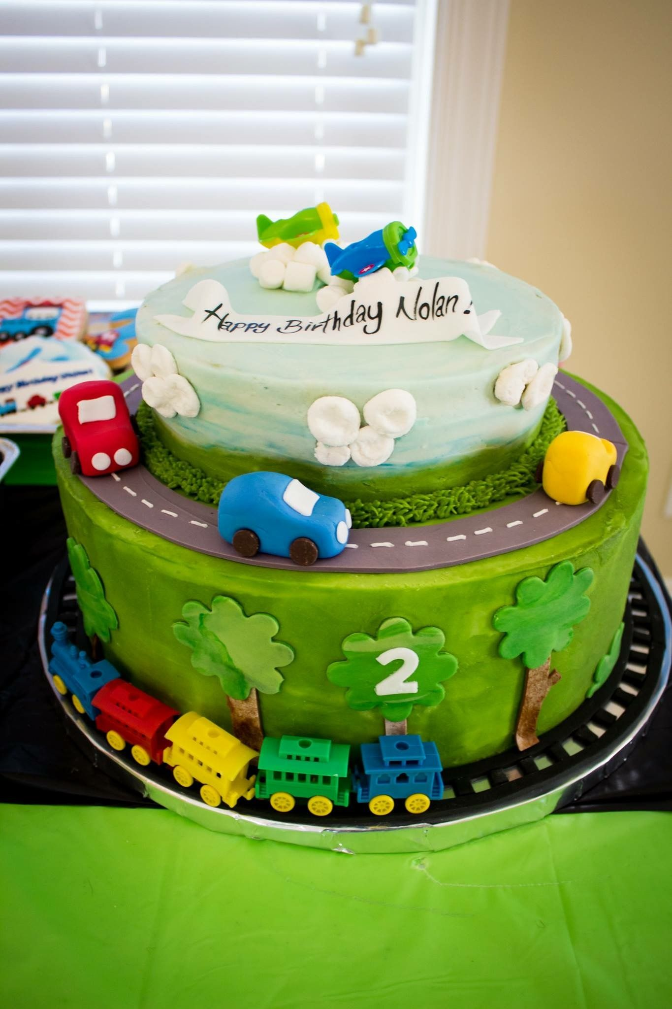 Oh The Places Youll Go Party Planes Trains And Automobiles Cars Airplane Cake