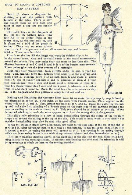 1920\'s costume slip