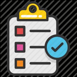 Audit Checklist List Schedule Survey Icon