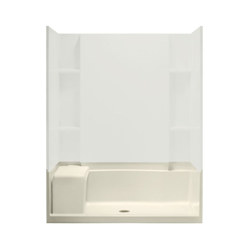 Sterling Accord Vikrell 60 In X 36 In Shower Base With Center