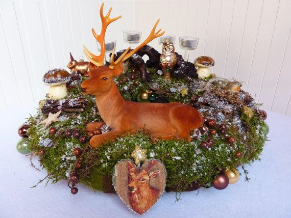 Adventskranz jagd