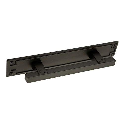 kitchen cabinet hardware backplates sonoma rubbed bronze 3 inch mission cabinet pull with 5449