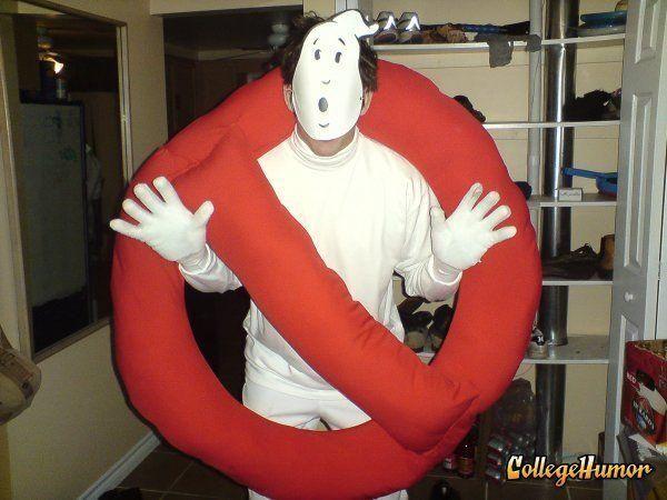 ghostbuster sign costume frisuren pinterest kost m halloween kost m. Black Bedroom Furniture Sets. Home Design Ideas