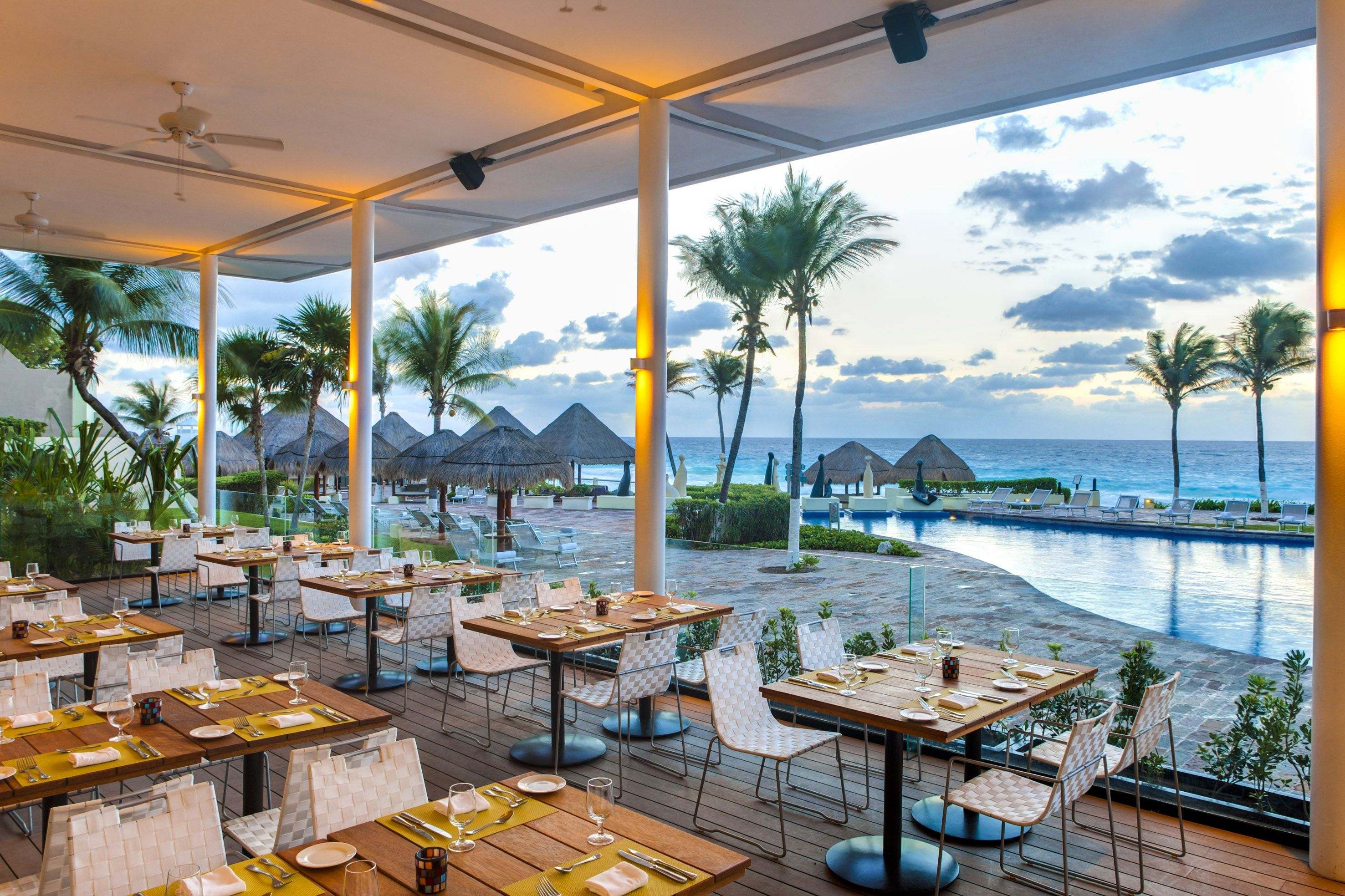 The Market Grill Restaurant At Paradisus Cancun