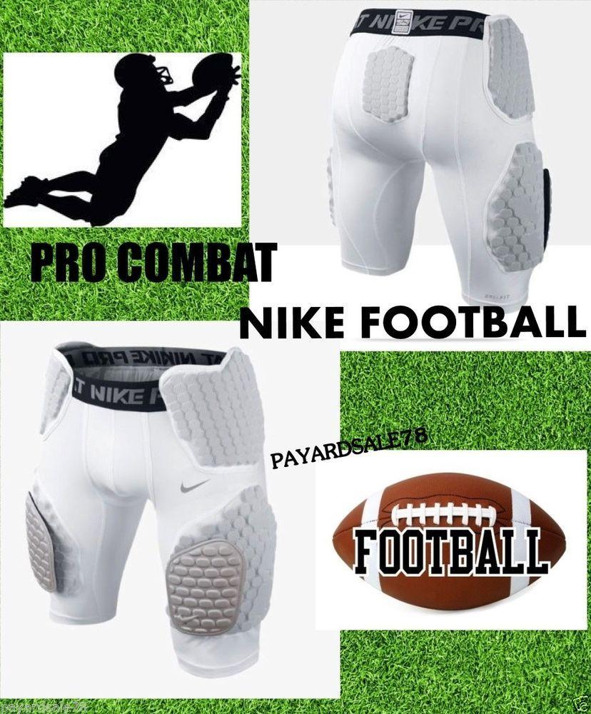 Mens nike football hard plate pro combat girdle shorts