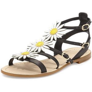 kate spade new york collin daisy t-strap sandal