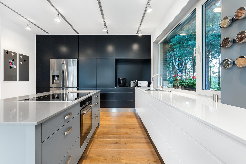Prosta Geometryczna Forma I Nowoczesny Design To Przepis Na Modna Kuchnie Na Dlugie Lata Kuchnia Aranzacja Inspiracje Design K Kitchen Home Decor Decor
