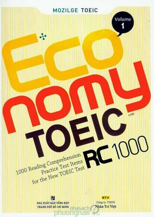 Economy TOEIC Reading +Listening Comprehension 1000 Pdf +Audio MP3 ...