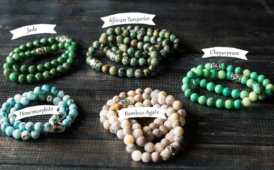 Healing Stone Bracelets Simple