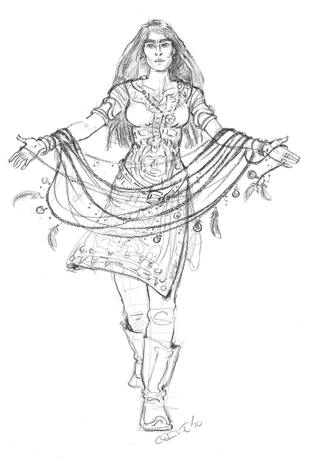 Fantasy Coloring Pages For Adults | adult fantasy ...