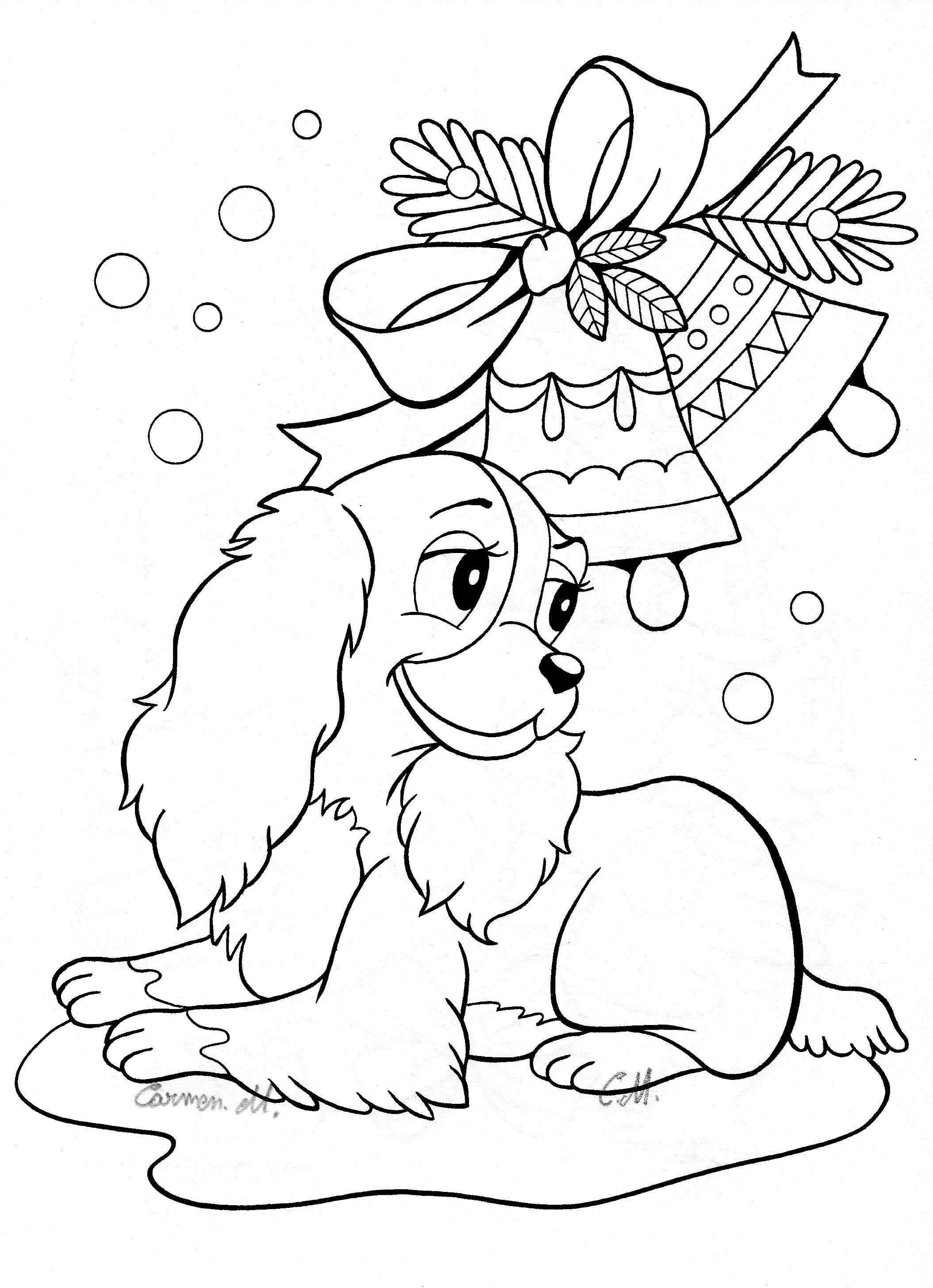 Christmas Coloring Pages Of Puppies From The Thousands Of Photos On Line Concer Printable Christmas Coloring Pages Disney Coloring Pages Puppy Coloring Pages