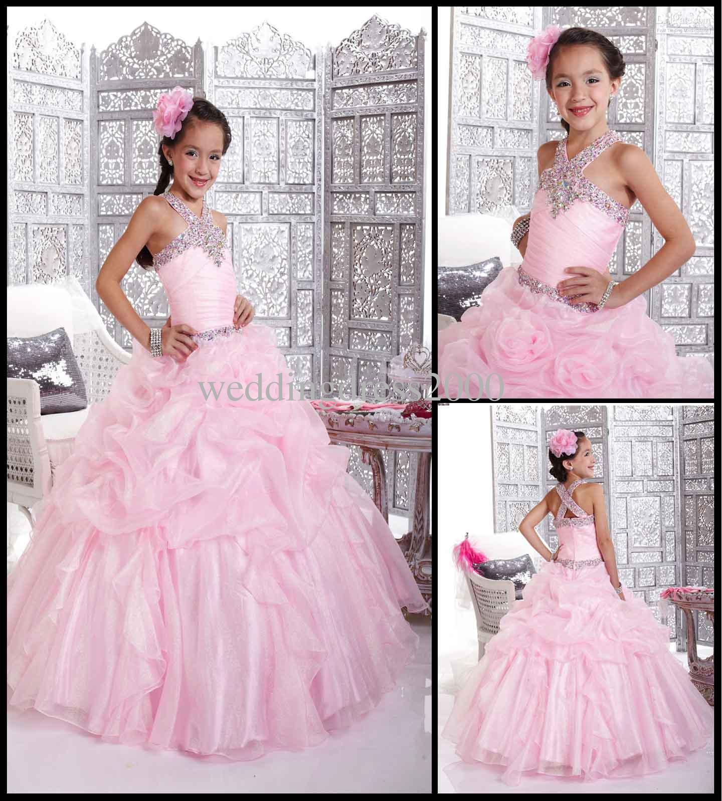 New Arrive kids pageant dresses Kids evening gowns Ball gowns Floor ...