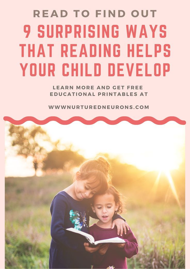 Here's 9 Incredible Reasons Children Should Read More - Nurtured Neurons