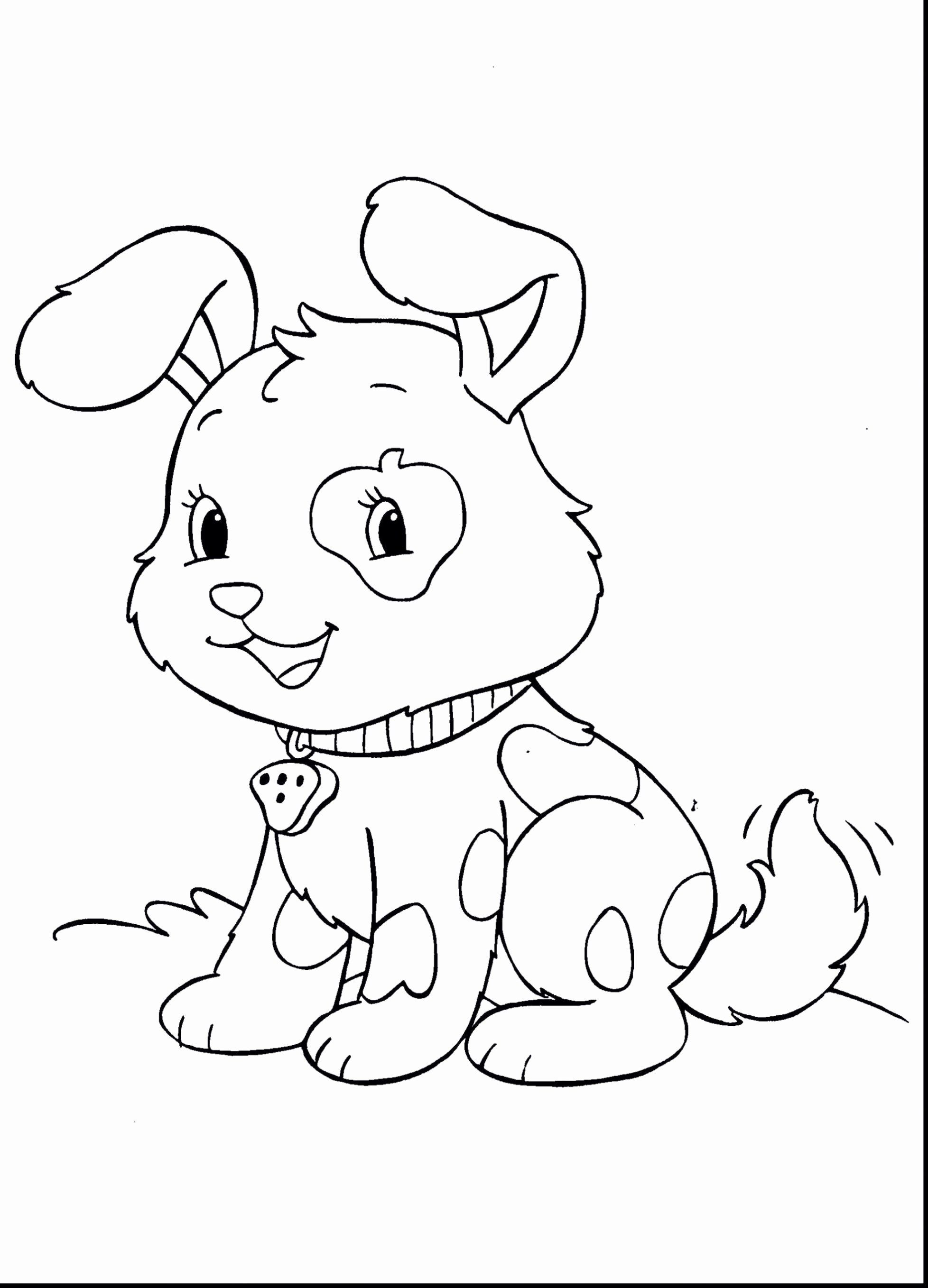 Animal Coloring Videos Luxury Cute Dog Coloring Page Fresh Cartoon Coloring Pages Col Puppy Coloring Pages Farm Animal Coloring Pages Zoo Animal Coloring Pages