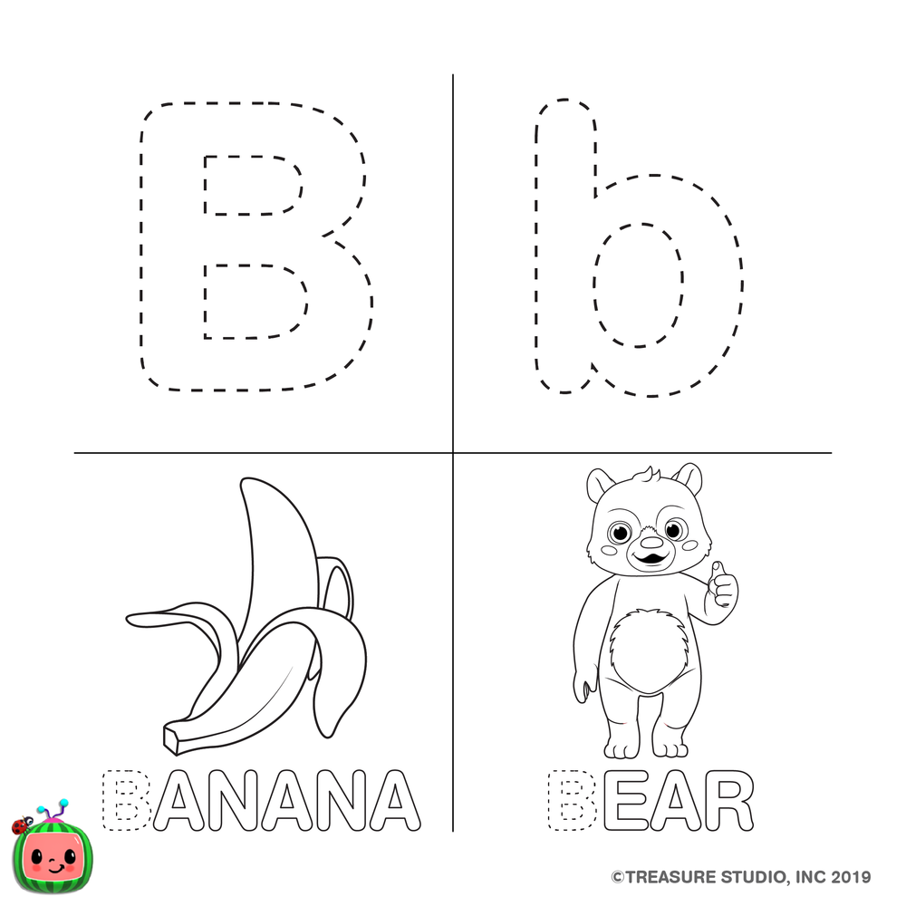 ABC Coloring Pages — in 2020 Abc coloring