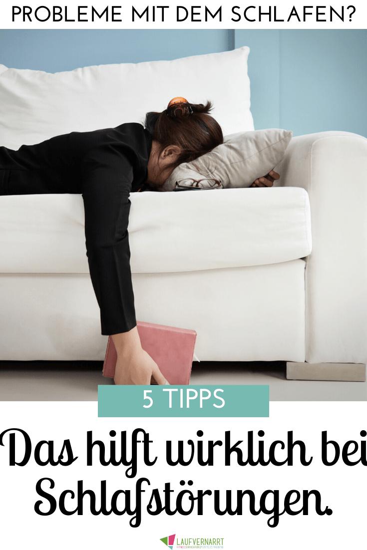 Schlafstörungen adé - das hilft bei schlechtem Schlaf - Laufvernarrt
