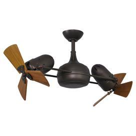 Showcasing 2 Propeller Style Heads With Wood Blades This Handsome