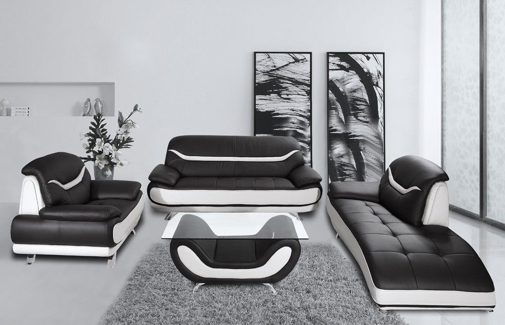 Cool Black And White Sofas , Best Black And White Sofas 27 In Living Room  Sofa
