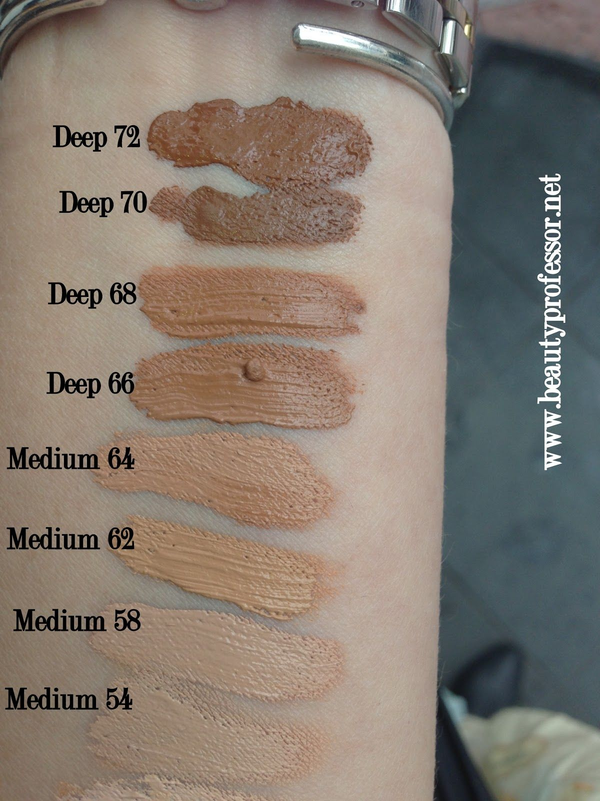 Kat Von D Lock It Tattoo Foundation Swatches Of All Shades Tattoo Foundation Lock It Tattoo Foundation Kat Von D