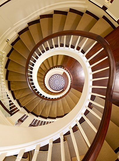 Attractive Thefoodogatemyhomework: Four Story Spiral Staircase In A Chicago Townhouse  By Burns U0026 Beyerl Architects