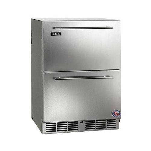 Perlick 24  C-Series Built-in Outdoor Refrigerator Drawers