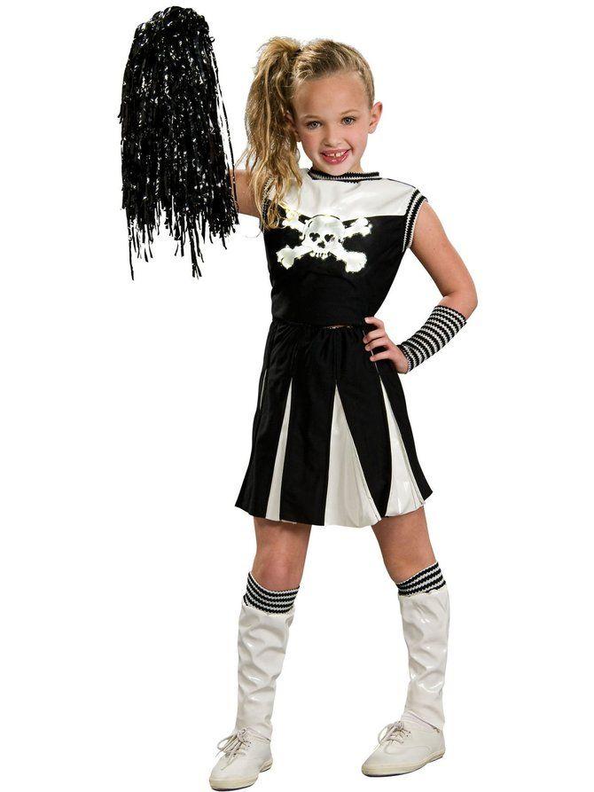 halloween costumes for baby girls cheerleader halloween pinterest kost m. Black Bedroom Furniture Sets. Home Design Ideas