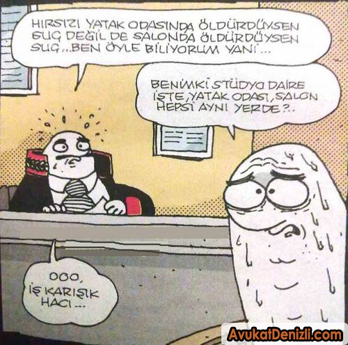 Hukuki Karikatürler #denizliavukat