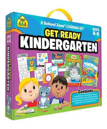 Loving this Get Ready Kindergarten Learning Kit on #zulily! #zulilyfinds