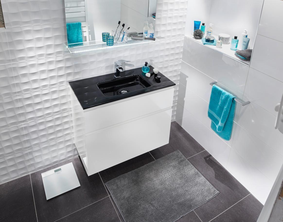 creamix le meuble qui s 39 adapte toutes les salles de bains ici avec un plan en verre la. Black Bedroom Furniture Sets. Home Design Ideas