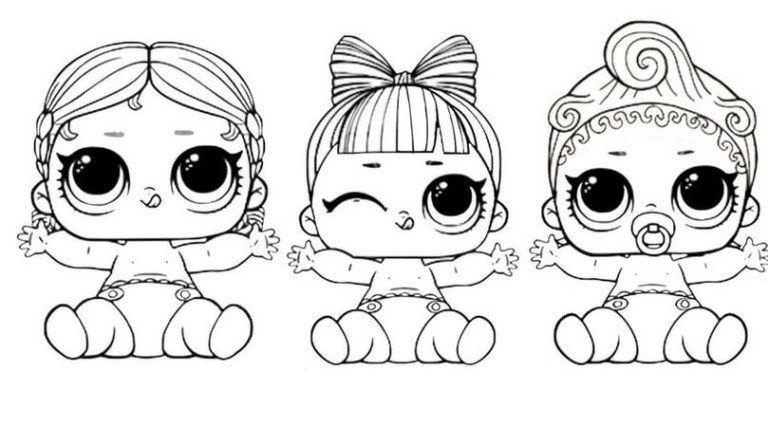 Disegni Da Colorare E Stampare Gratis Lol Bambole Lol Pagine Da