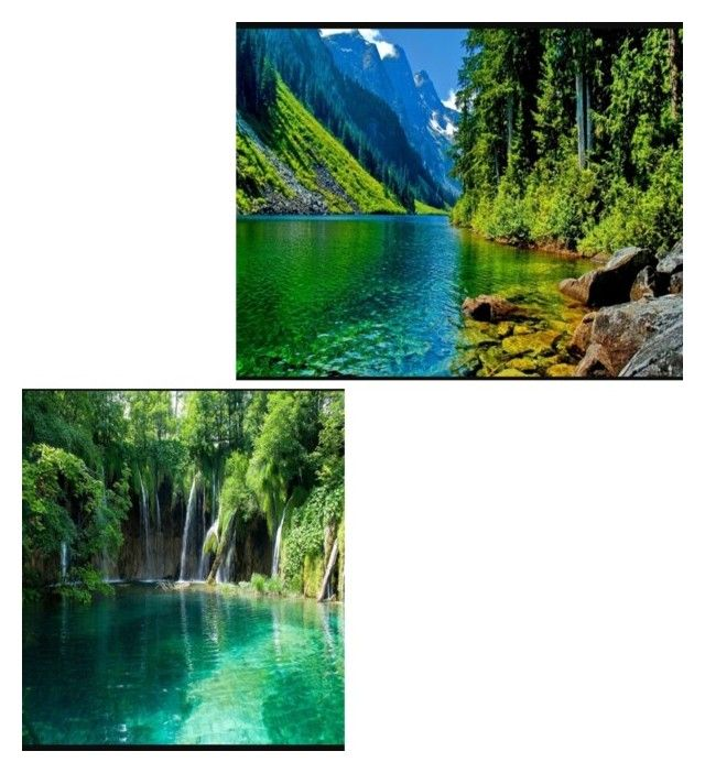 """""""Lake next to the cabin and the water falls"""" by piercetheveil1000 on Polyvore featuring interior, interiors, interior design, home, home decor and interior decorating"""