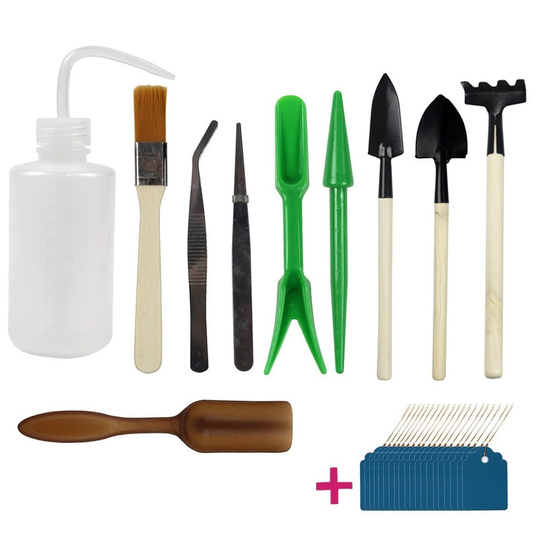 Zen Garden Tools Mini Fairy Gardening Kit Bonsai Miniature Hand Tool Plant  Care