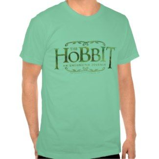 The Hobbit Logo Green Shirt by thehobbit