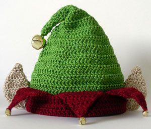 Crochet Spot elf hat pattern