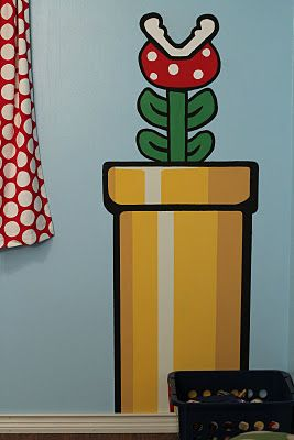Super Mario Nursery - would so want to do this if I ever had a boy