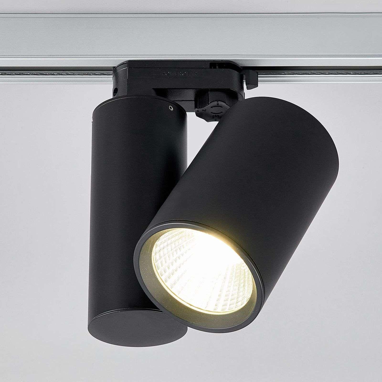Spot Led Giol Noir Pour Systeme De Rails Led Verlichtingsrails Badkamer Verlichting