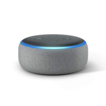 Amazon Alexa Enabled Echo Dot 3rd Generation Gray In