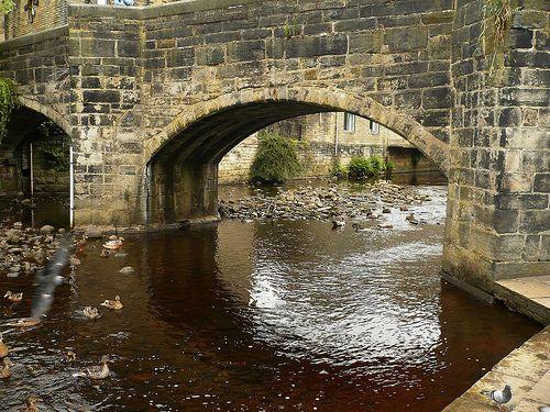 Hebden Old Bridge (c1510)
