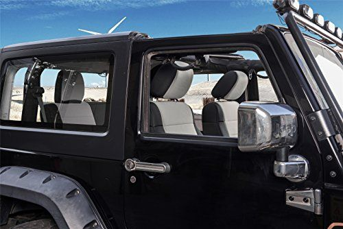 Pernice Neoprene Jeep Wrangler Seat Covers Customized Fit For 20072010 Airbag Compatible 2 D Neoprene Seat Covers Jeep Wrangler Seat Covers Car Interior Design