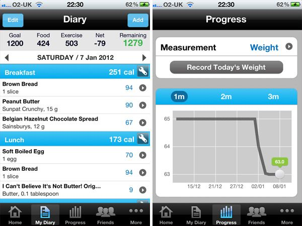 exercise tracker online