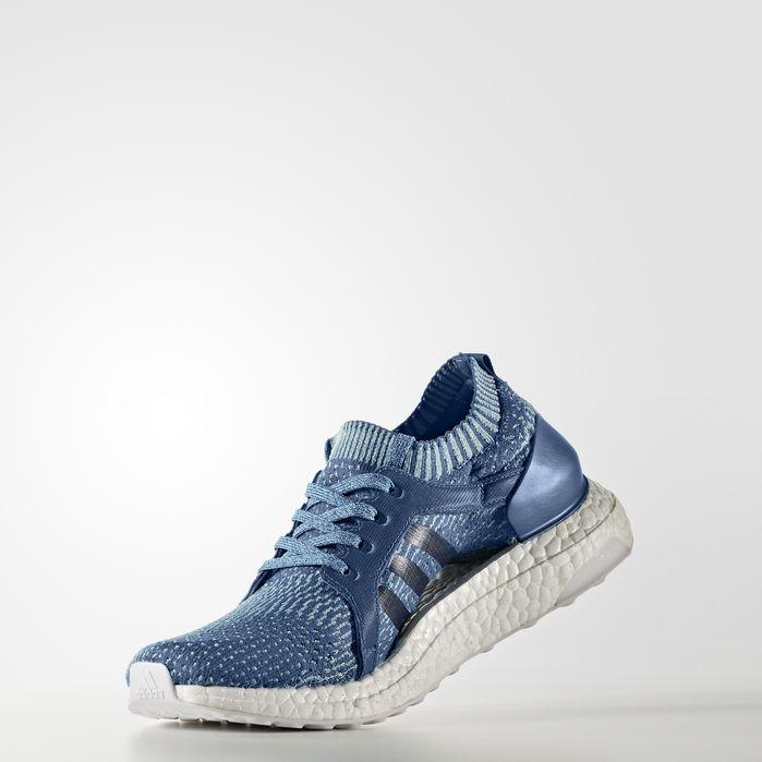 54de03fd6ad Ultraboost X Parley Shoes Core Blue 8.5 Womens in 2019
