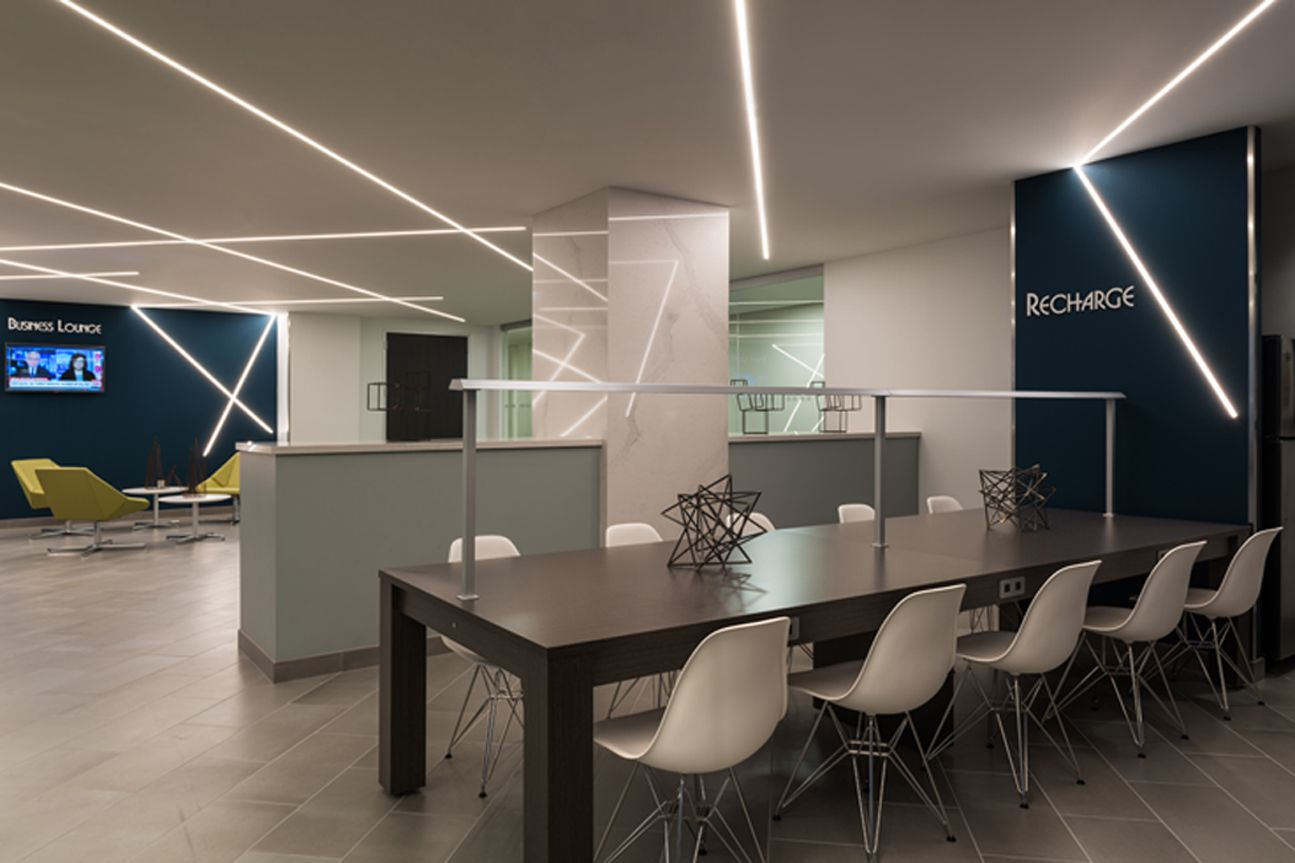 Modern LED Office Lighting Idea TruLine .5A by Pure
