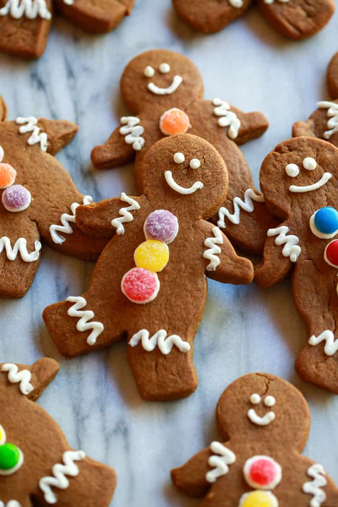 Gingerbread Man Cookies Recipe Chewy gingerbread