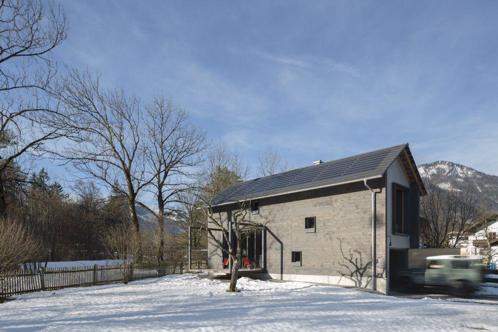 Holzhaus am auerbach christine arnhard markus eck for Modernes wohnen haus
